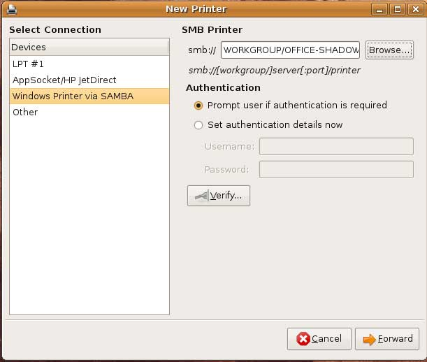 how to find samba path in ubuntu